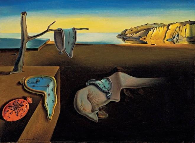 Persistencia da memória Salvador Dali