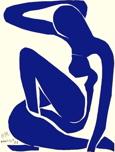 Blue nude, obra de Henri Matisse