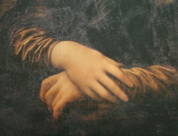 As mãos de Monalisa - Leonardo D' avinci