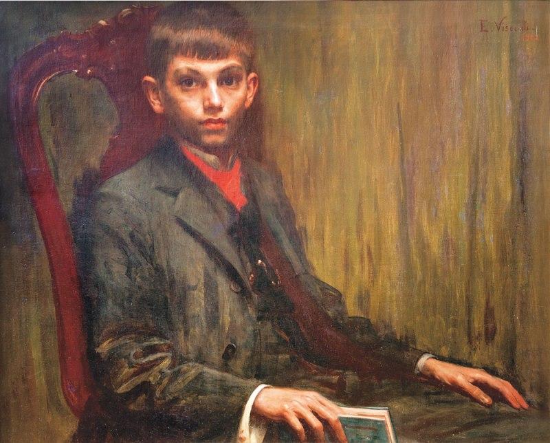 Retrato de Alberto de Eliseu Visconti