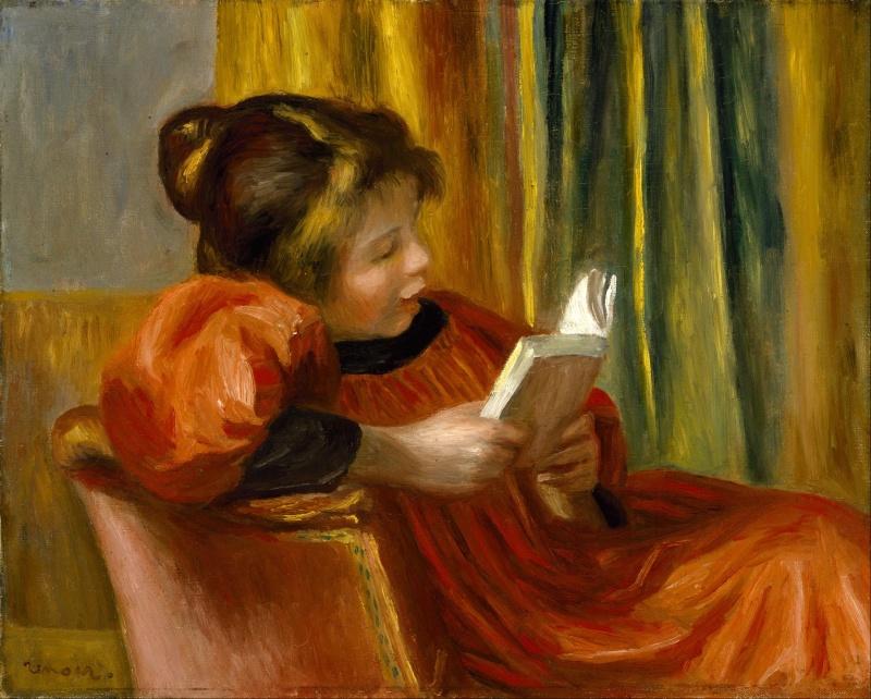 Girl Reading, obra de Renoir