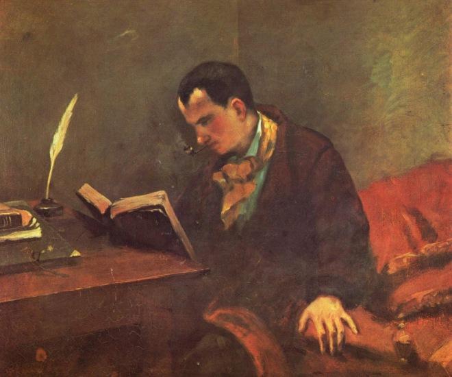 Baudelaire 1848 por Gustave_Courbet_033