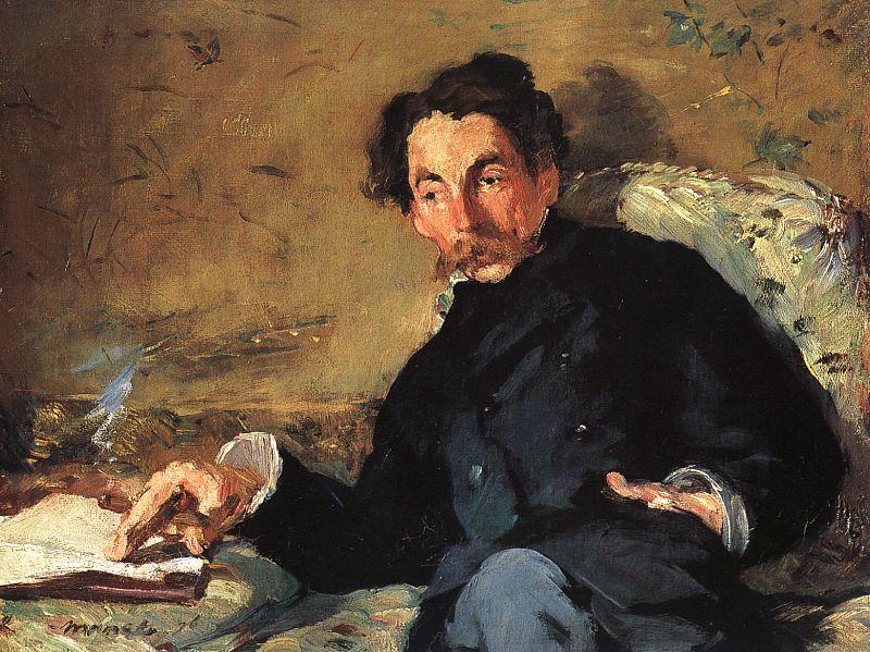 Mallarmé por Edouard Manet, 1876