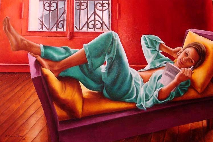 Obra de Annick Bouvattier