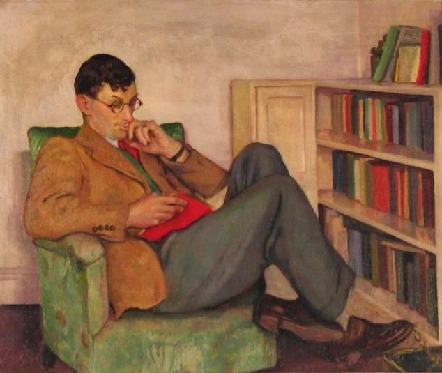 Irish artist Brigit Ganley-1909-2002-portrait of her husband Andrew Ganley-jpg