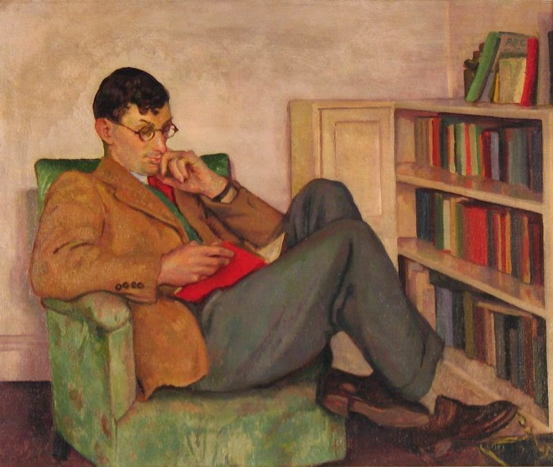 Irish artist Brigit Ganley-1909-2002-portrait of her husband Andrew Ganley-jpg
