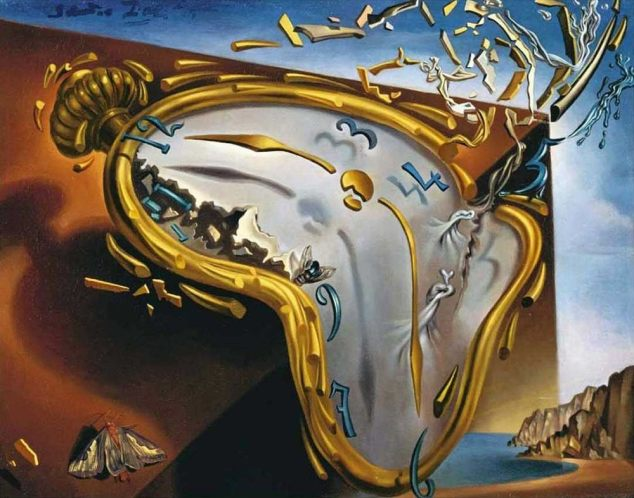 the-melting-watch, Salvador Dali