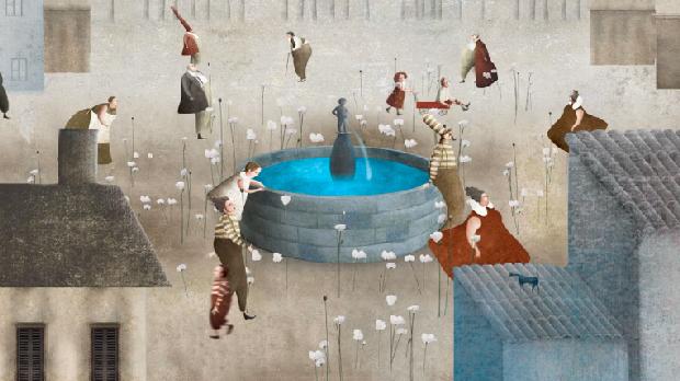 The-Memory of Fountain. Obra do artista mexicano Gabriel Pacheco.