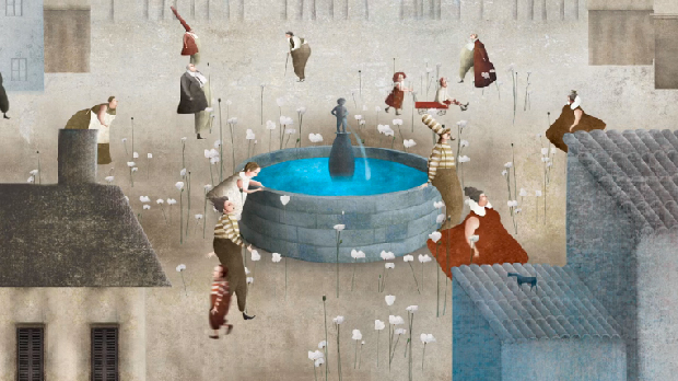 The-Memory of Fountain. Obra do artista mexicano Gabriel Pacheco.
