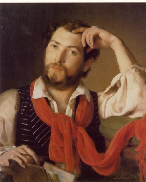 Johann Baptist Reiter leitor de olhos claros